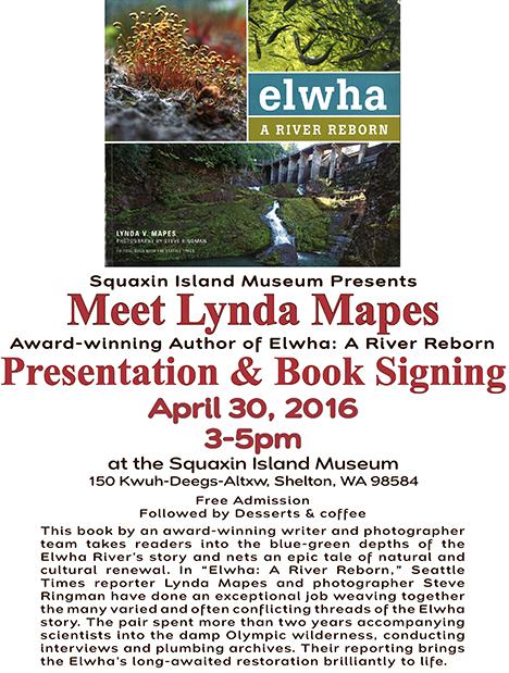 Meet Lynda Mapes Flyer
