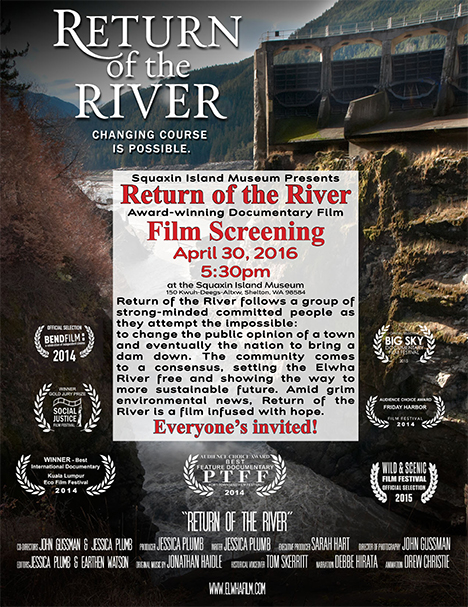 Return of the River Screening Flyer